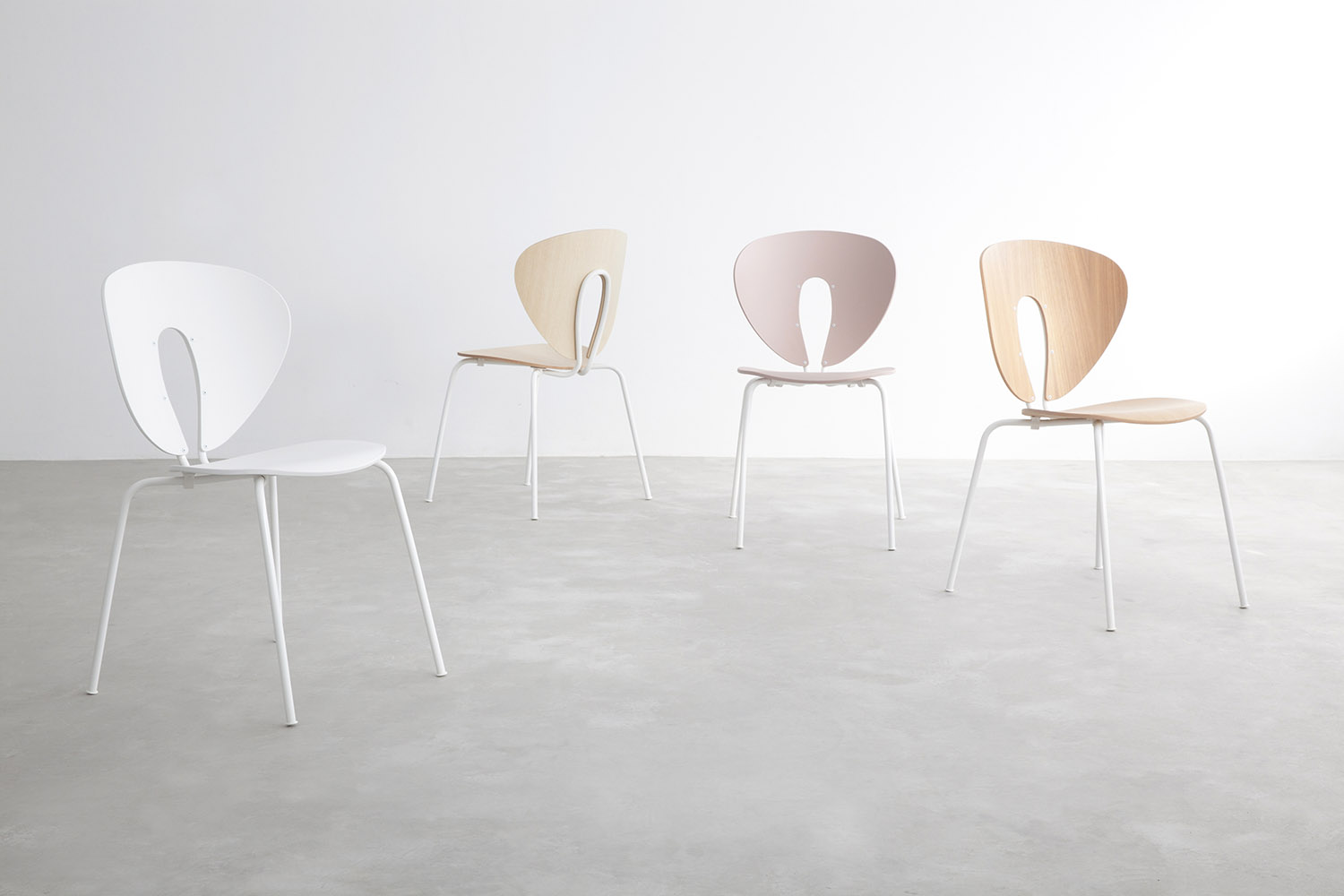 STUA Light Design Globus Chair, Comfortable And Stacking