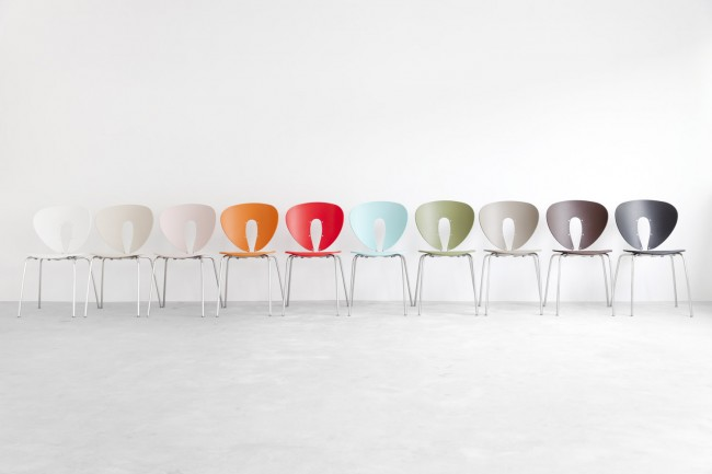 STUA Light Design Globus Chair, Comfortable And Stacking