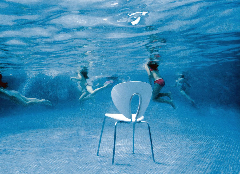 Stua Globus Underwater Blue