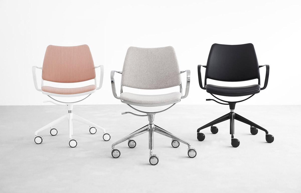 Stua Gas Swivel Chair With Castors