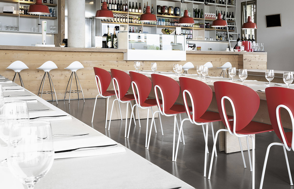 San Sebasti N Basque Culinary Center Comedor Con Sillas Globus Y  # Muebles Para Food Court
