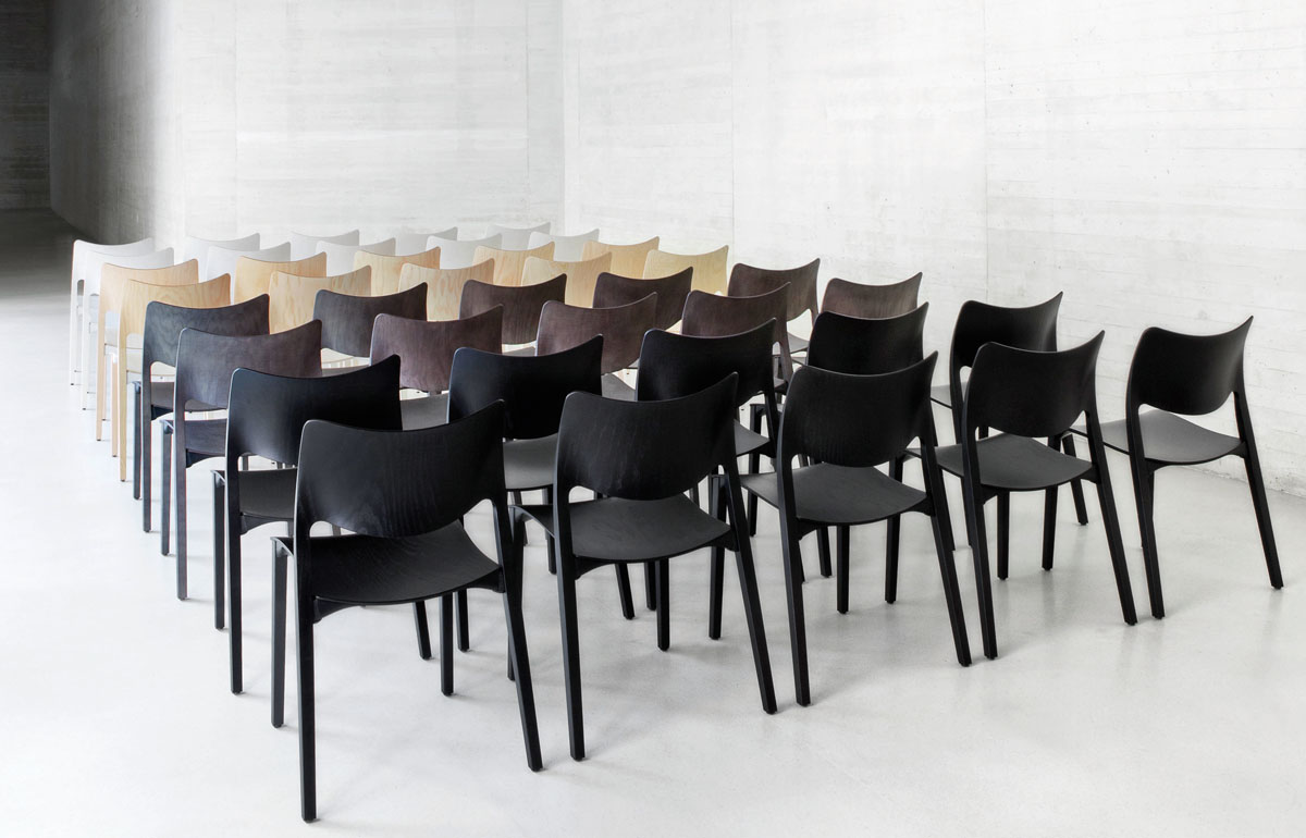 design chairs for conference by stua