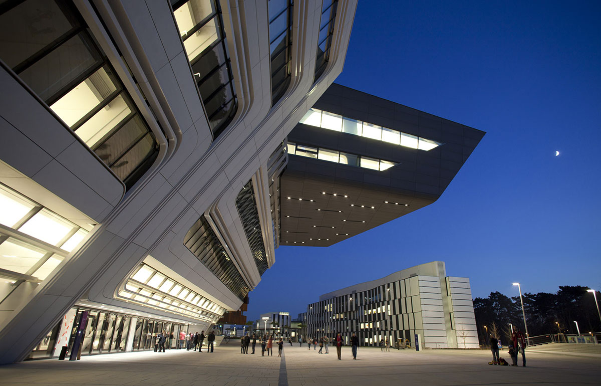Stua zaha hadid architect project in vienna university for Zaha hadid vienna