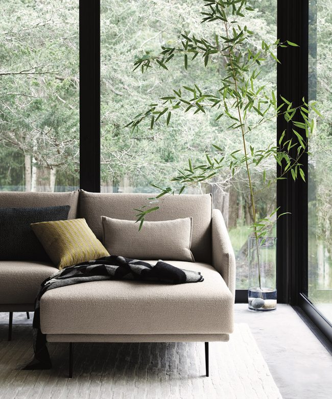 STUA Costura sofa collection on chaise furniture, chaise recliner chair, chaise sofa sleeper,