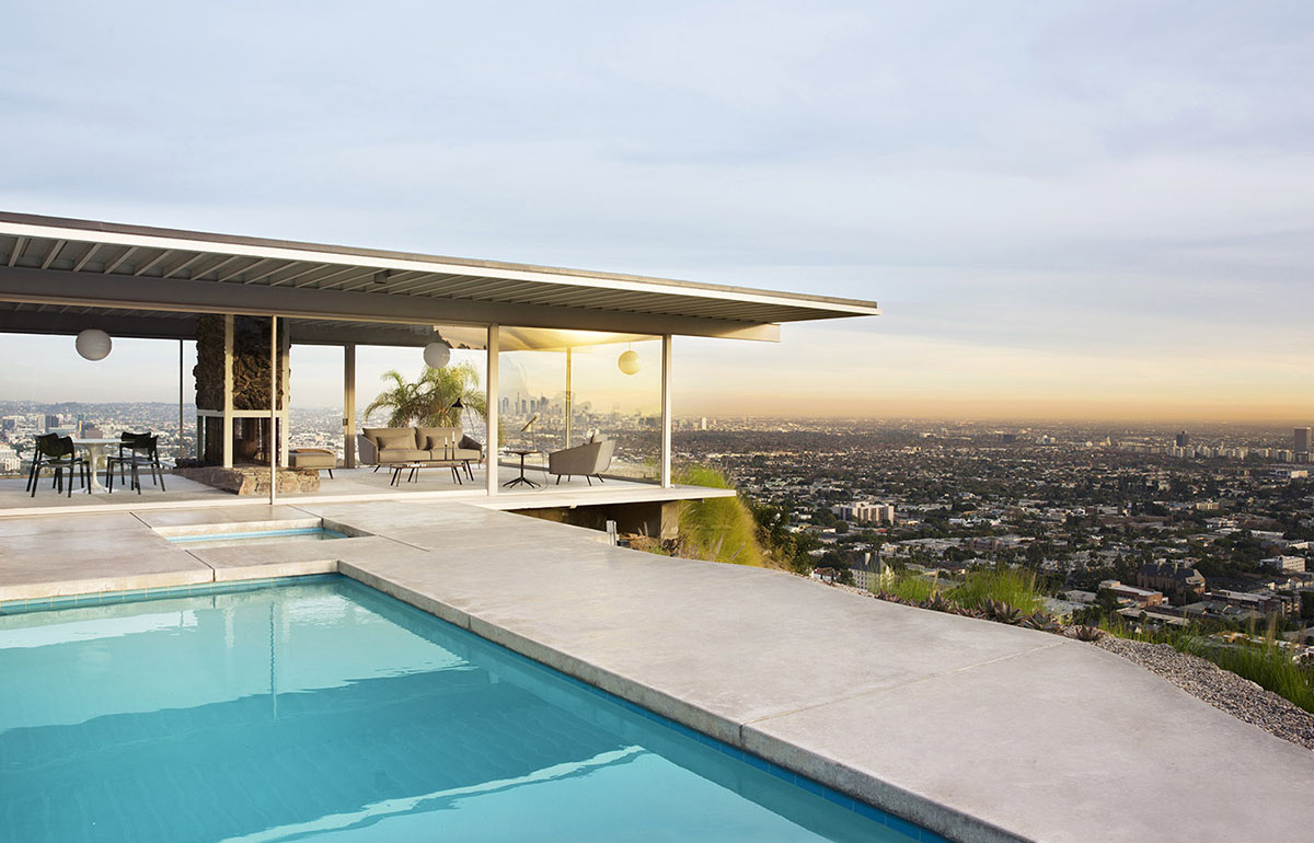 STUA Stahl House In Los Angeles