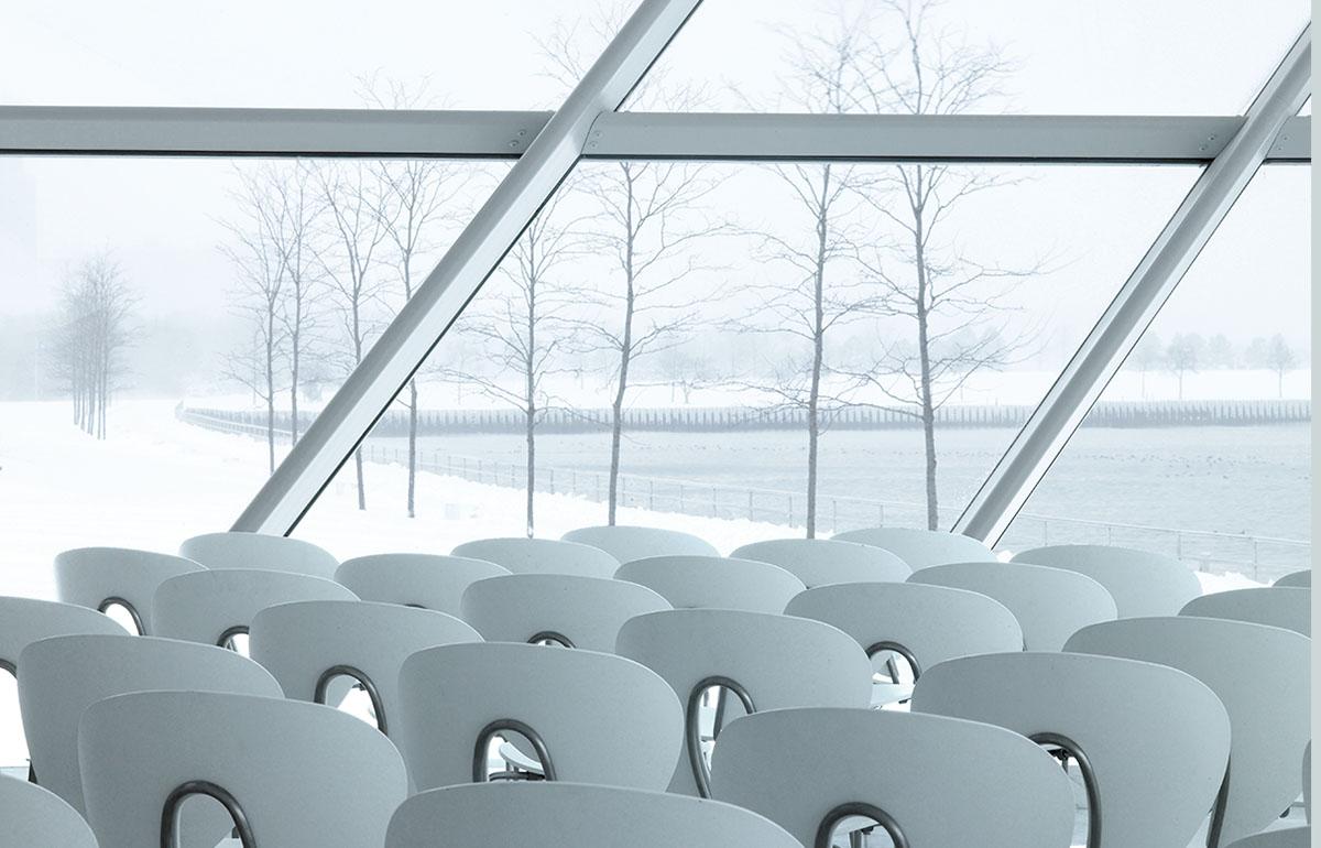 Stua Globus Chairs In Milwaukee Art Museum
