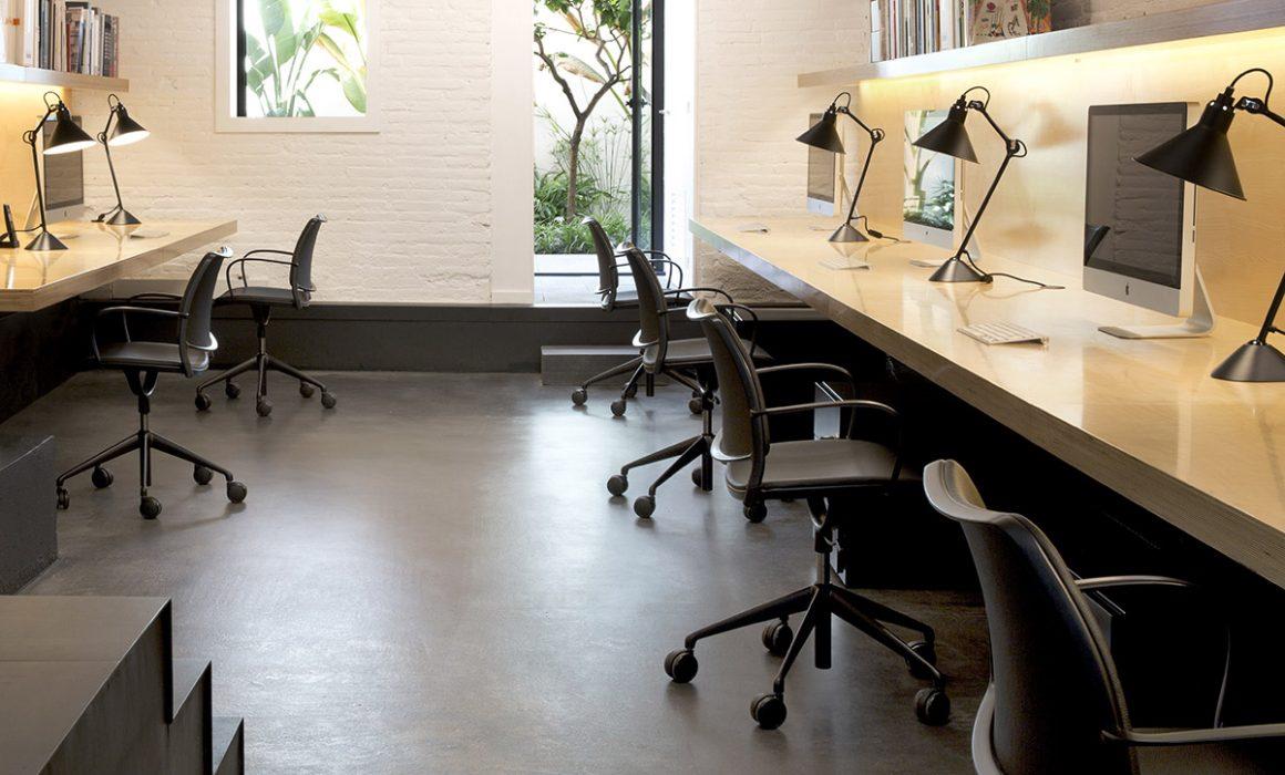 Barcelona oficinas de estudio de interiorismo home vice - Estudio de interiorismo barcelona ...