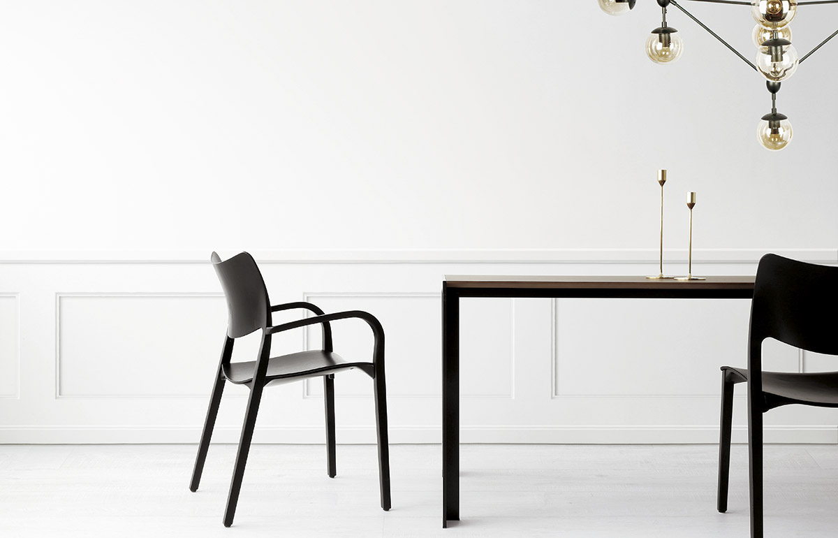 New Laclasica Armchair By A Deneb Table