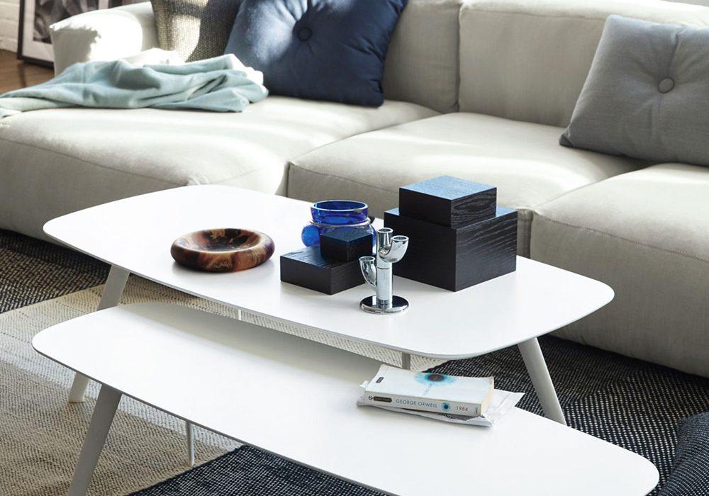 STUA Solapa table in white