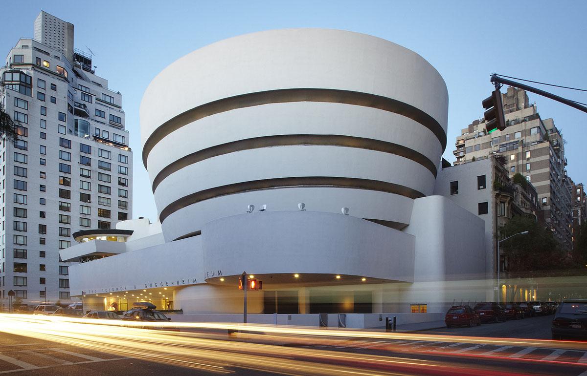 Digital art experiences at New York's Guggenheim Museum