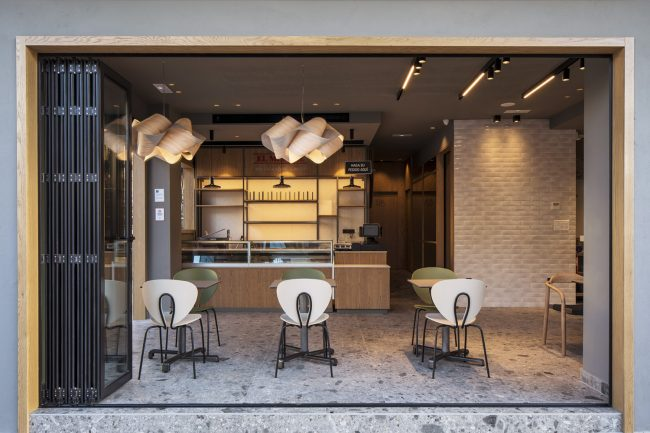 El Mimbre bakery in Malaga