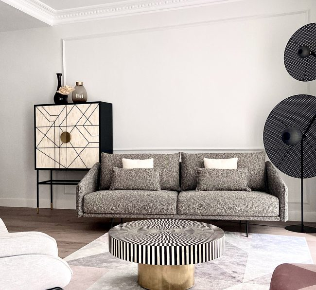 Living area by Mikel Irastorza with STUA Costura sofa